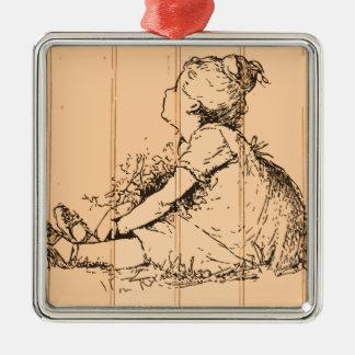 The Flower Girl Ornament