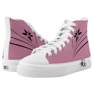 The Flower High-Top Sneakers