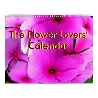 The Flower Lovers' Calendar