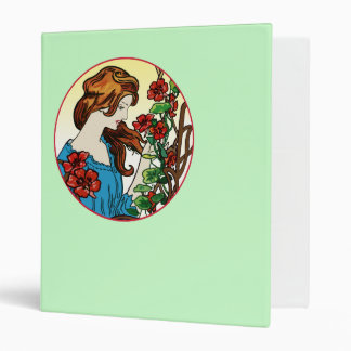 The Flower Maid 3 Ring Binder