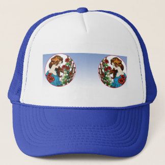 The Flower Maid Trucker Hat