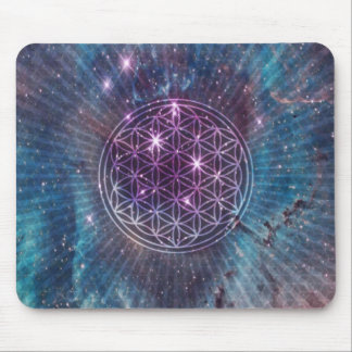 The Flower Mouse Pad