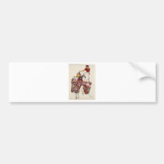 The Flower of Immortality - Dance Bumper Sticker