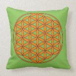 The Flower of Life Meditation/Yoga Pillow