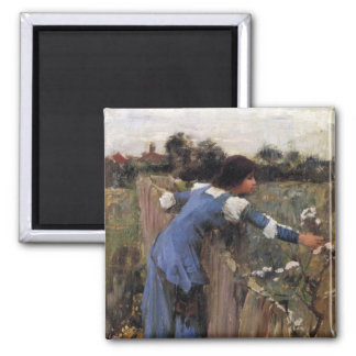 The Flower Picker 2 Inch Square Magnet
