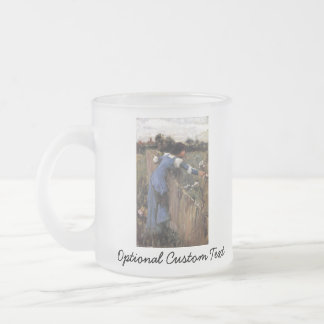 The Flower Picker Frosted Glass Coffee Mug
