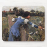 The Flower Picker Mouse Pad