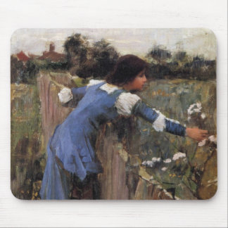 The Flower Picker Mouse Pads