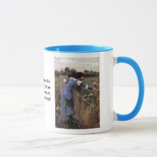 The Flower Picker Mug