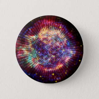 The Flower Pinback Button