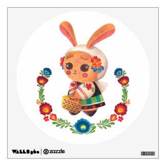 The Flower Polish Bunny Wall Sticker