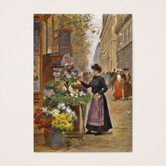 The Flower Seller Business Card