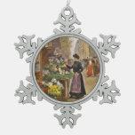 The Flower Seller Ornament
