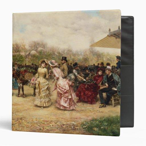 The Flower Sellers, 1883 Binder