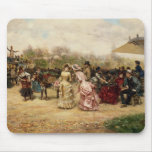 The Flower Sellers, 1883 Mouse Pad