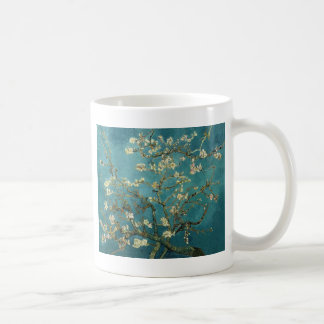 The flower the branch of the almond which blooms coffee mug