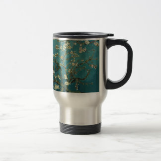 The flower the branch of the almond which blooms travel mug