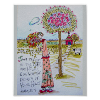 The Flower Tree Poster