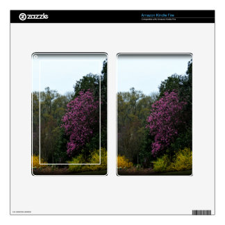 The Flowering Trees Kindle Fire Decal
