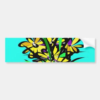 The Flowers. Bumper Sticker