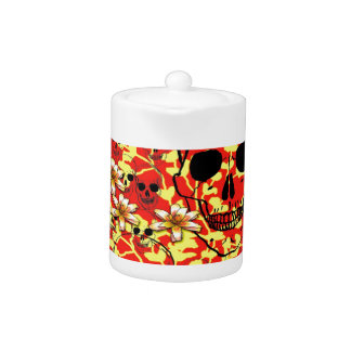 The flowers of death teapot