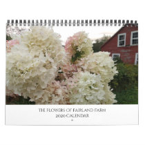 The Flowers of Fairland Farm, Vermont 2020 Calendar