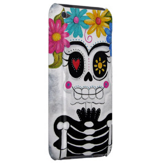 The Flowery Skull iPod Touch Cover