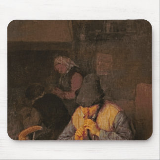 The Flute Player, 17th century Mouse Pad