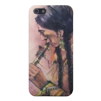 The Flute Player iPhone 5 Case