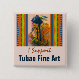 The Flute Player Pin