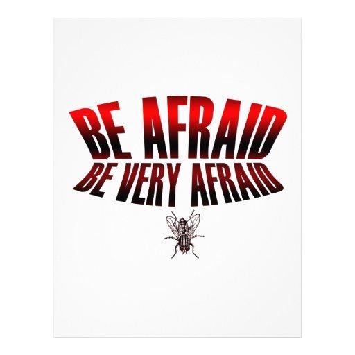 Be Very Afraid: The Fly Be Afraid Be Very Afraid Letterhead