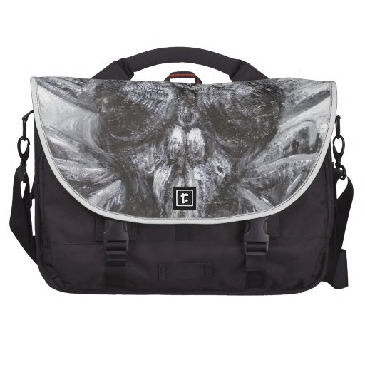 The Fly Head (surreal realism) Laptop Commuter Bag