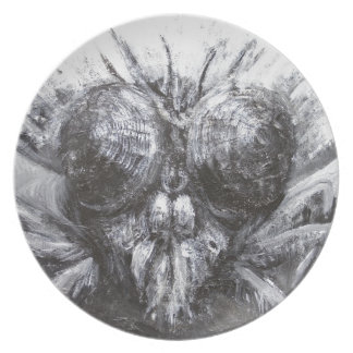 The Fly Head (surreal realism) Plate
