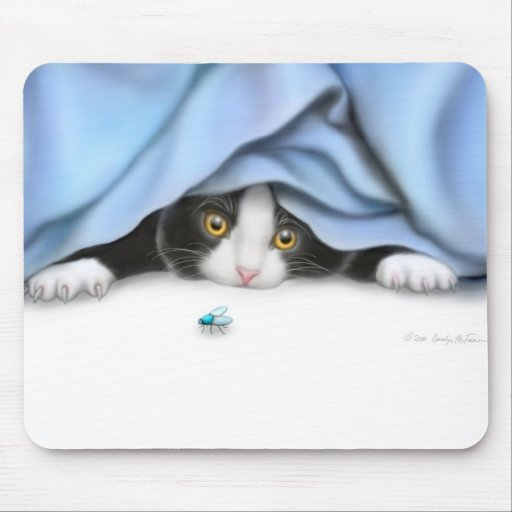 The Fly Hunter Mousepad