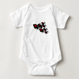 The Fly Squad Baby Bodysuit