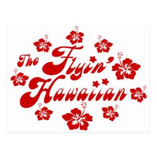 the flyin' hawaiian postcard