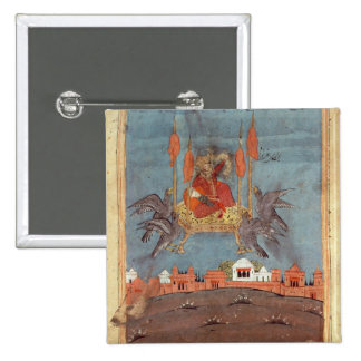 The Flying Carpet 2 Inch Square Button