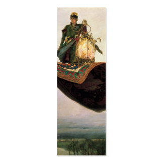 The Flying Carpet by Viktor Vasnetsov (1880) Double-Sided Mini Business Cards (Pack Of 20)