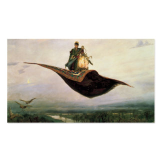 The Flying Carpet by Viktor Vasnetsov (1880) Double-Sided Standard Business Cards (Pack Of 100)