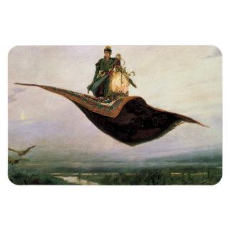 The Flying Carpet by Viktor Vasnetsov (1880) Magnet
