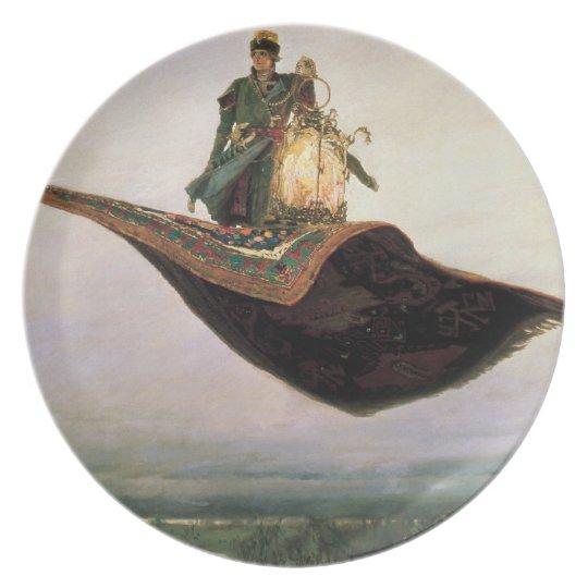 The Flying Carpet by Viktor Vasnetsov (1880) Melamine Plate