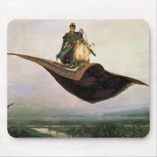 The Flying Carpet by Viktor Vasnetsov (1880) Mousepads