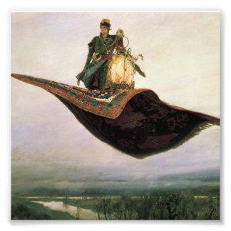 The Flying Carpet by Viktor Vasnetsov (1880) Photo Print
