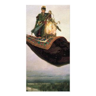 The Flying Carpet by Viktor Vasnetsov (1880) Customized Photo Card
