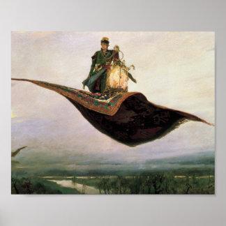 The Flying Carpet by Viktor Vasnetsov (1880) Poster