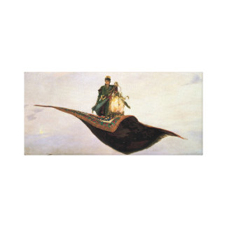 The Flying Carpet Canvas Print