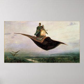 The Flying Carpet Fantasy Art Poster Print