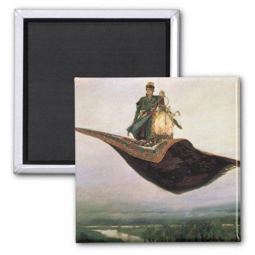 The Flying Carpet Magnet