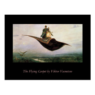 The Flying Carpet Postcard