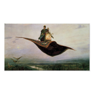 The Flying Carpet Print